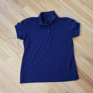 Tops - BASIC NAVY POLO